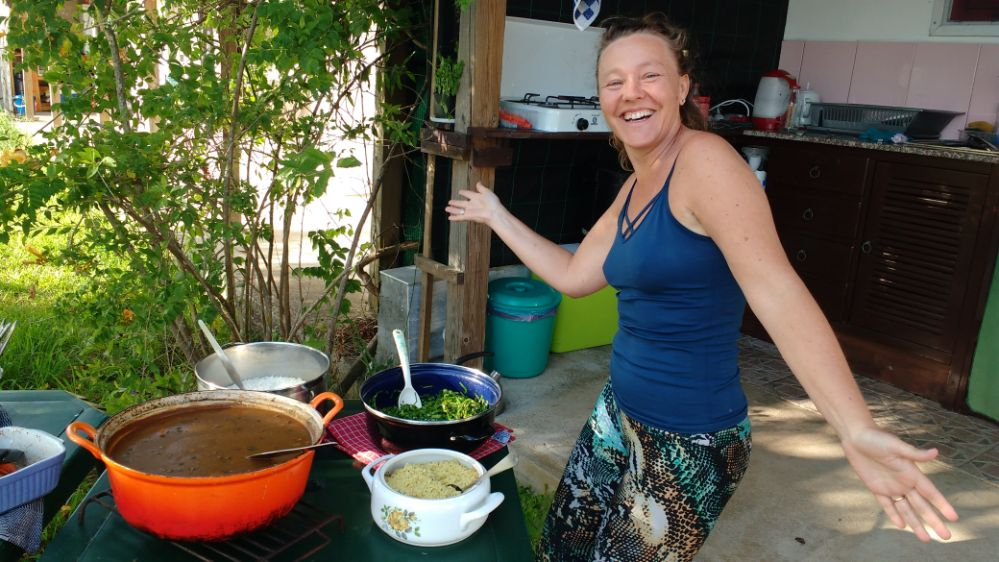 Maris makes excellent Brazilian food