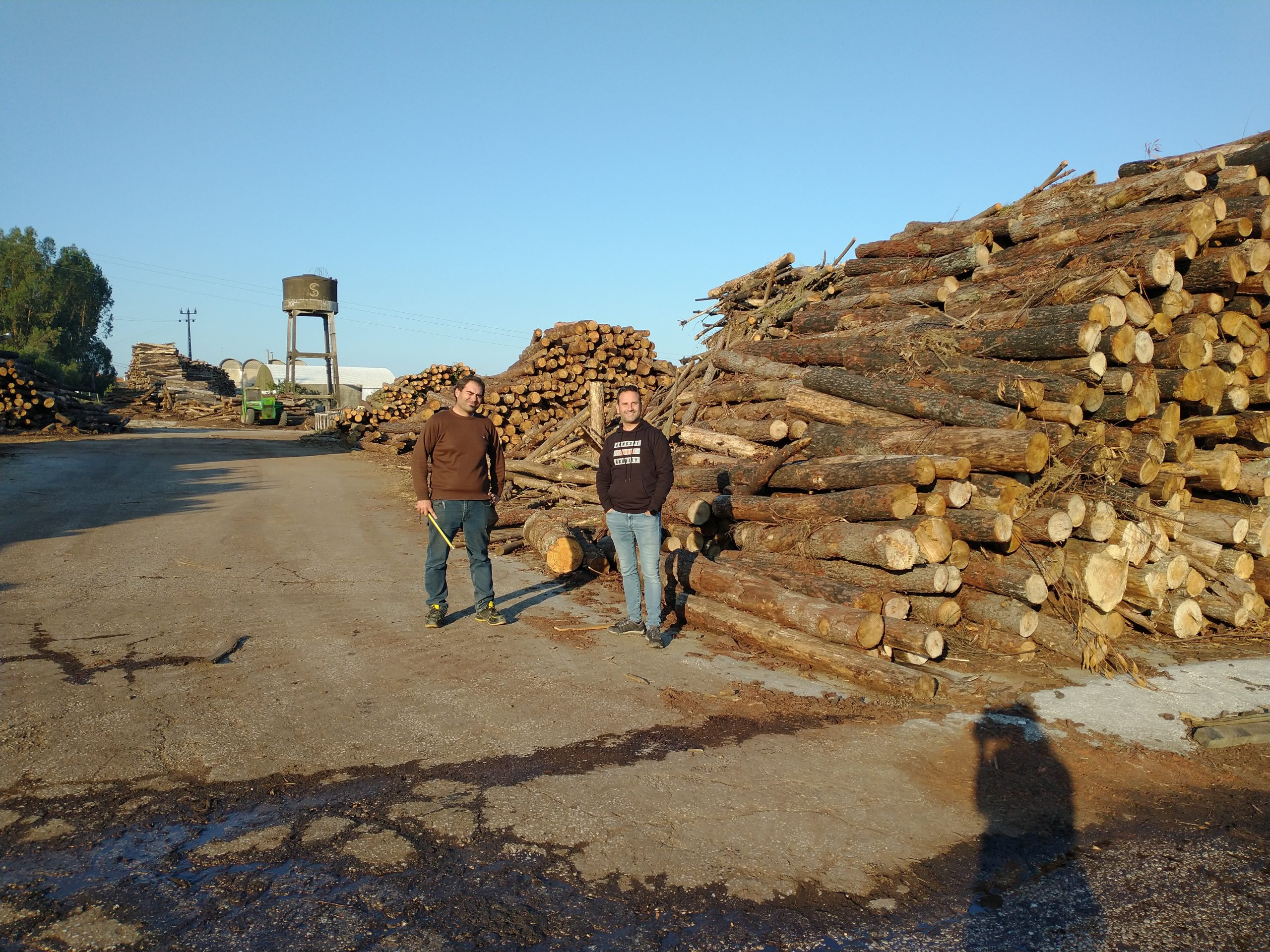 the owner and the engineer of the lumberyard