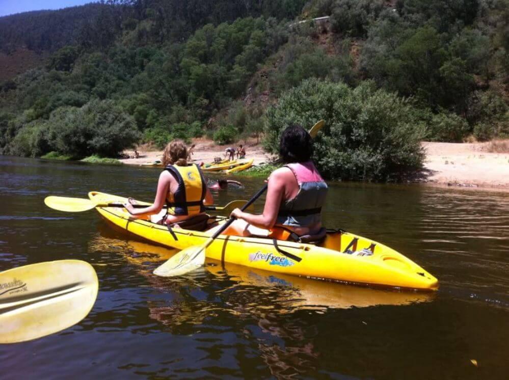 canoe_a-few-boats-on-the-river-