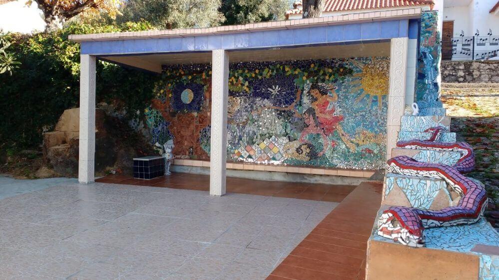 mosaico-no-terraço-de-xadres-com-cobra-3D