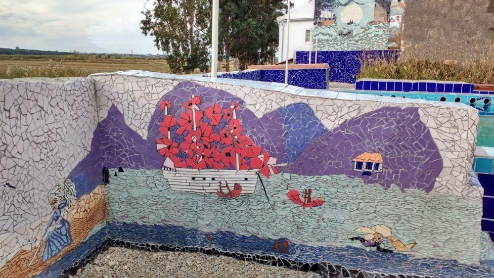 mosaico-ao-lado-da-piscina-Termas-da-Azenha