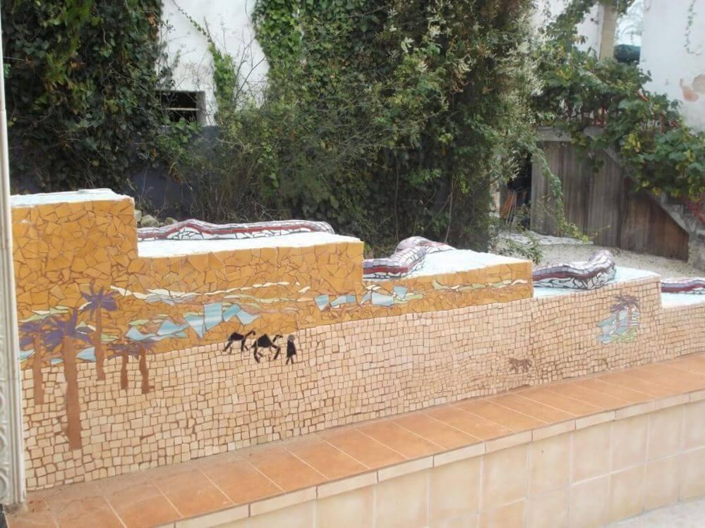 mosaico-no-terraço-de-xadres-Termas-da-Azenha