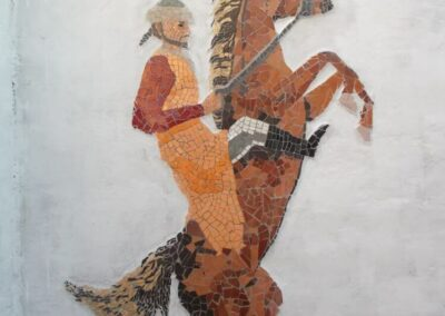 mosaic-the-emperor-on-his-horse