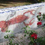 mosaic-of-a-crayfish