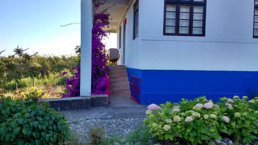 entrance of Casa Pomarinho